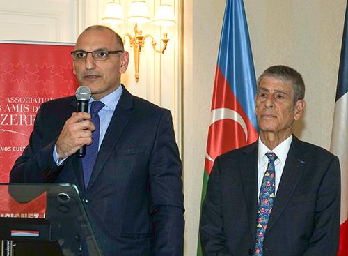 Jean-Pierre Allali et son excellence Elchin Amirbayov