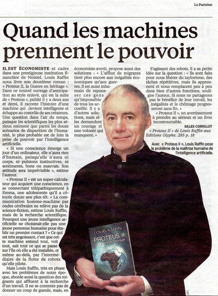 Proteus, Le Parisien