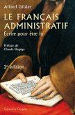 le français administratif