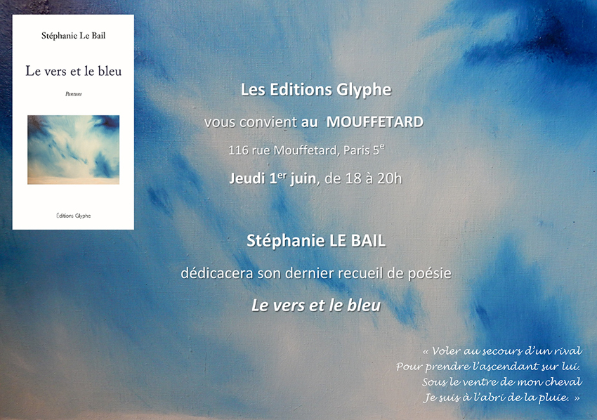 Le Vers et le bleu