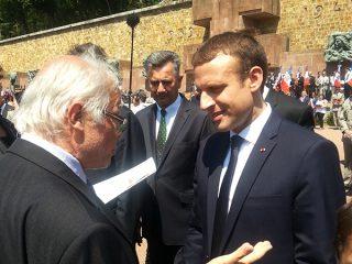 Alfred Gilder rencontre Emmanuel Macron