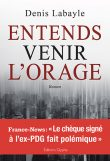 Entends venir l'orage, Denis Labayle, Editions Glyphe