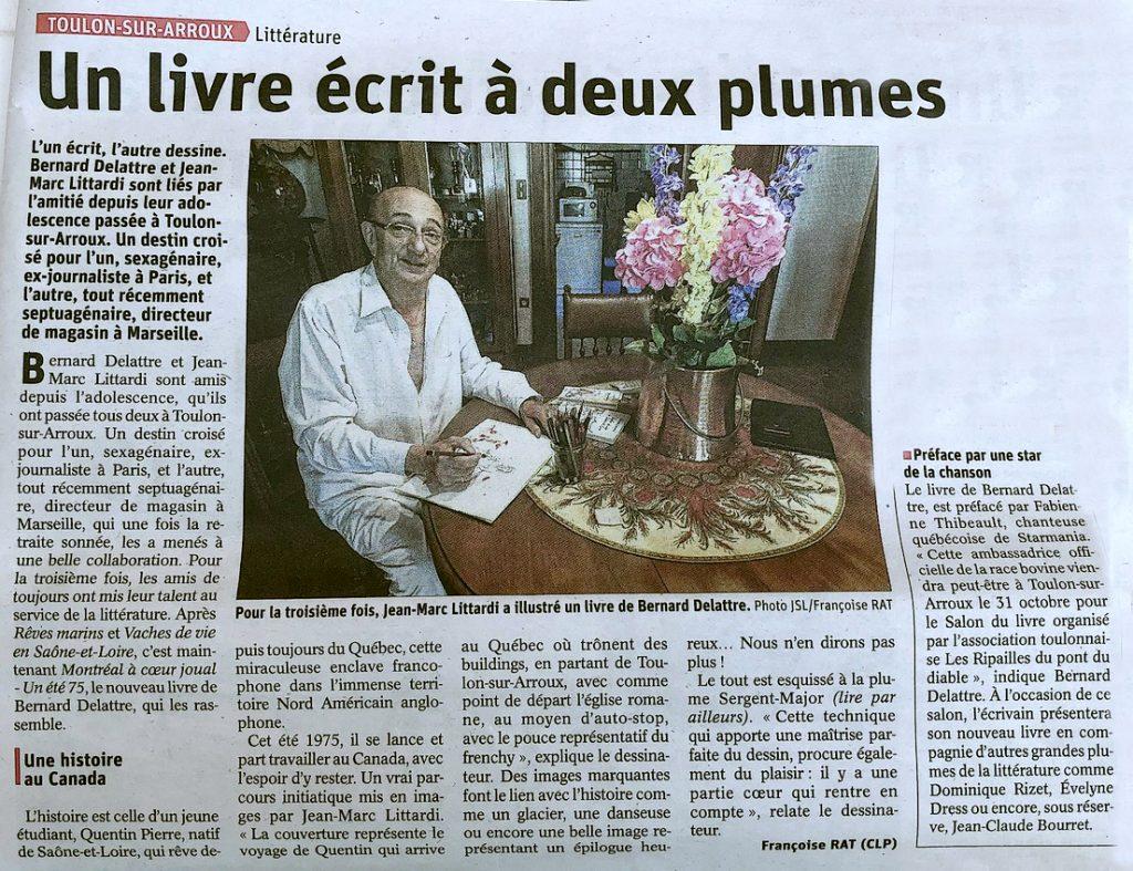 Montréal à coeur joual, Bernard Delattre, Editions Glyphe