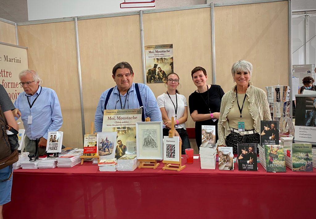 Editions Glyphe, Fête de l'Huma, Jean-PIerre Rey, Evelyne Dress, Eric Martini